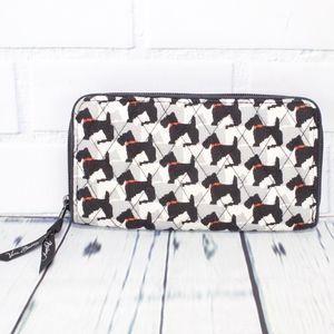 Vera Bradley Scotty Dog Wallet Clutch